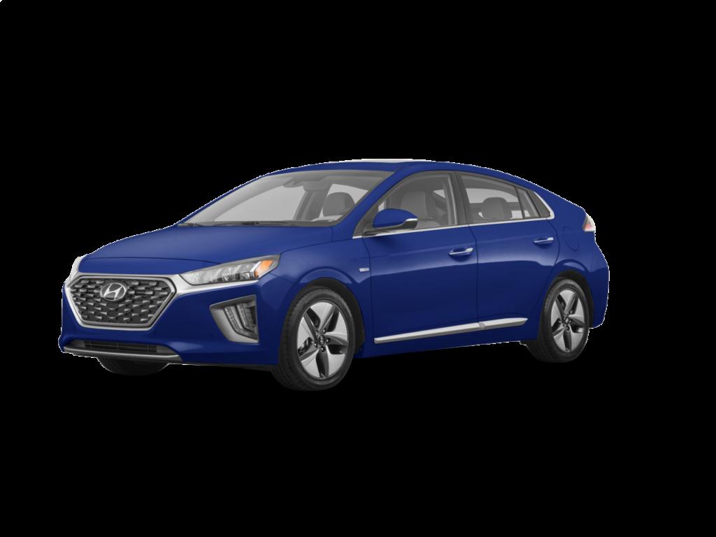 2020 Hyundai Ioniq Hybrid Limited 4dr Hatchback (1.6L 4cyl gas or electric hybrid 6AM) Intense Blue