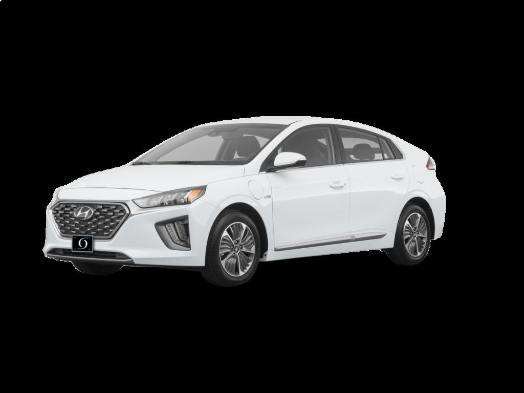 2020 Hyundai Ioniq Plug-In Hybrid SE 4dr Hatchback (1.6L 4cyl gas or electric hybrid 6AM) Ceramic White