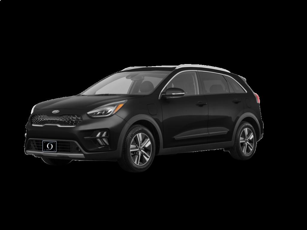 2020 Kia Niro Plug-In Hybrid EX Premium 4dr SUV (1.6L 4cyl gas_electric hybrid 6AM) Aurora Black Pearl
