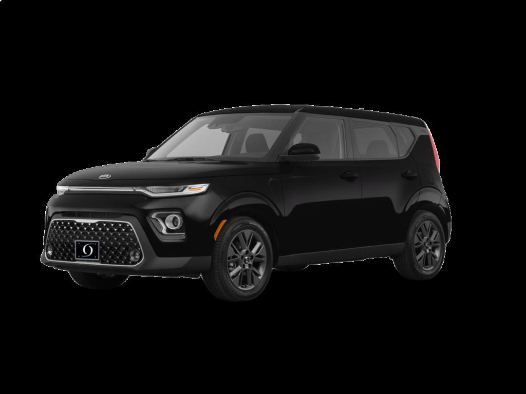 2020 Kia Soul LX 4dr Wagon (2.0L 4cyl CVT) Cherry Black