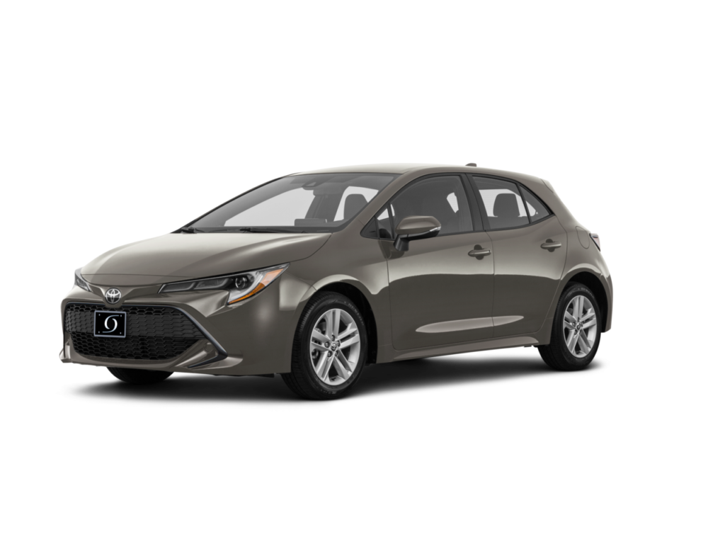 2021 Toyota Corolla Hatchback SE 2.0L 4cyl CVT Magnetic Gray Metallic