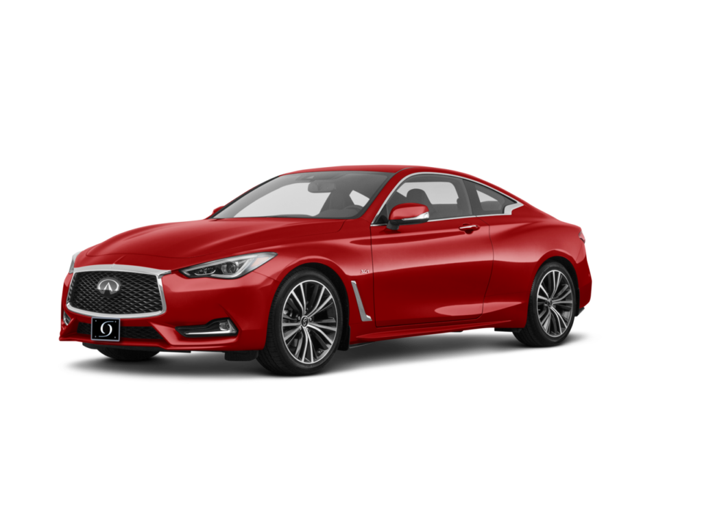 2021 Infiniti Q60 Luxe Dynamic Sunstone Red