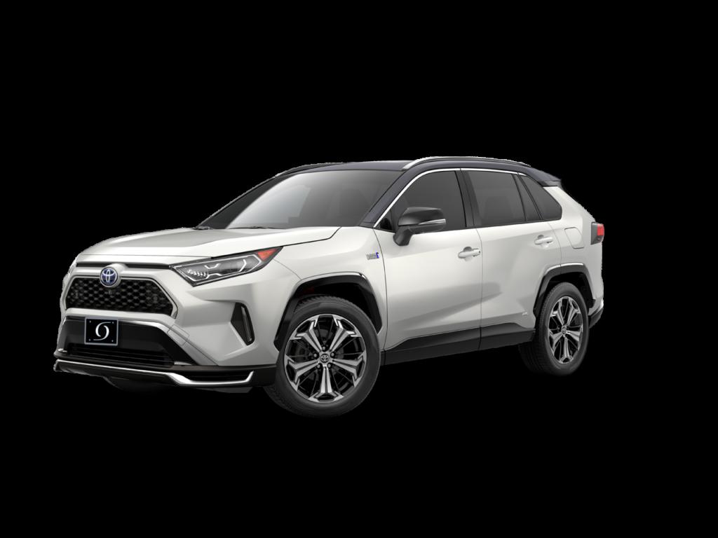 2021 Toyota Rav4 Prime XSE Blizzard Pearl - Midnight Black Roof