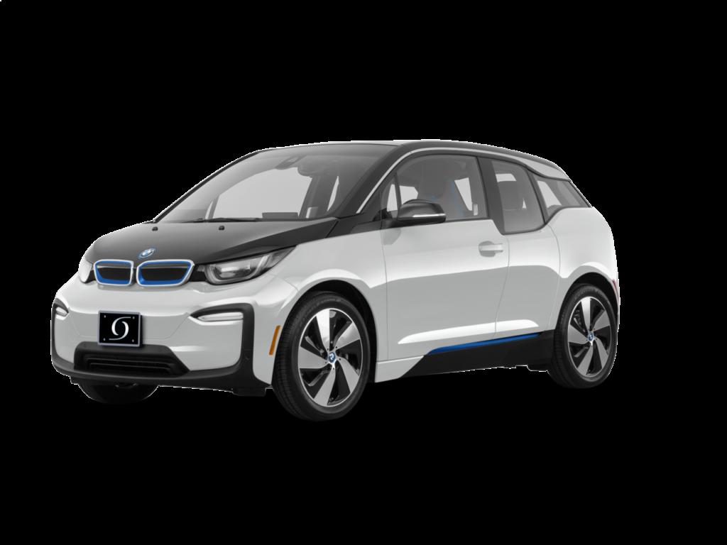 2021 BMW I3 120Ah Capparis White witth BMW i Frozen Blue Accent