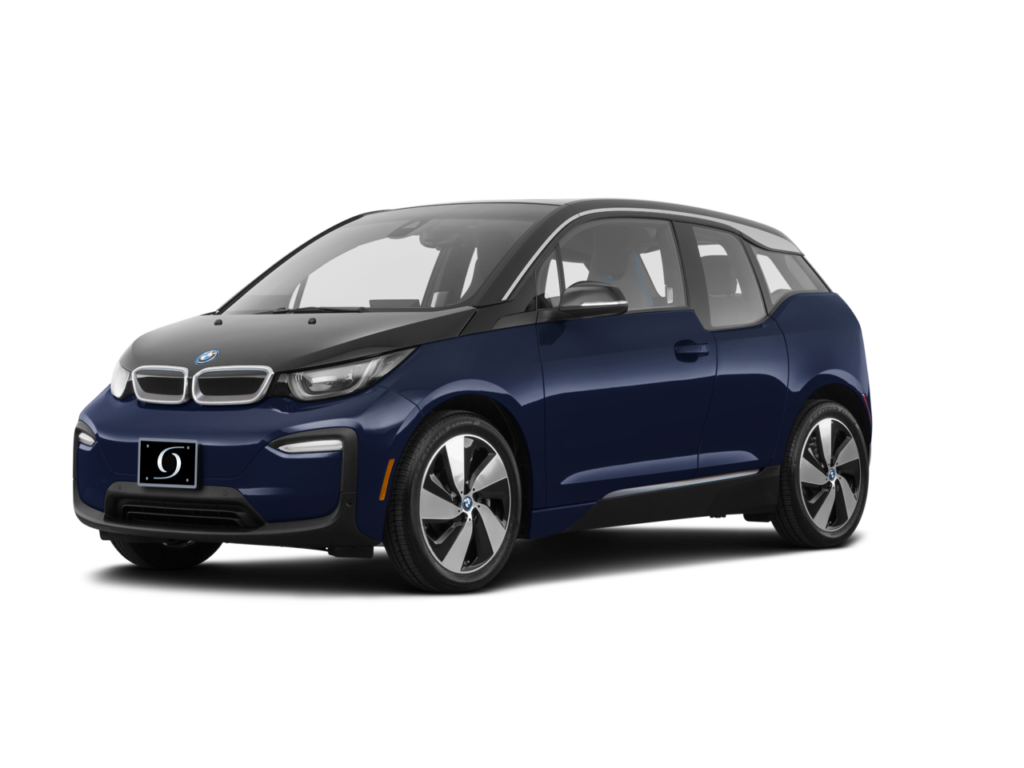 2021 BMW I3 120Ah w Range Extender Imperial Blue Metallic witth BMW i Frozen Grey Accent
