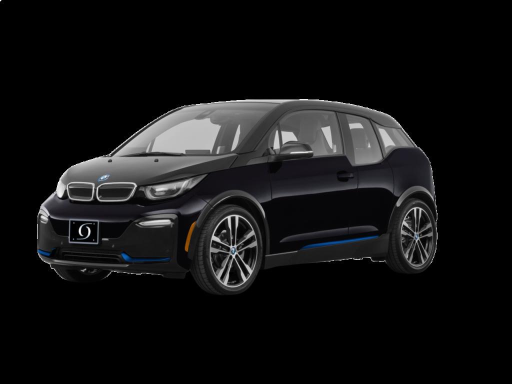 2021 BMW I3 S 120Ah Fluid Black witth BMW i Frozen Blue Accent