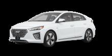2020 Hyundai Ioniq Hybrid Blue 4dr Hatchback (1.6L 4cyl gas or electric hybrid 6AM) Ceramic White