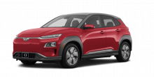 2020 Hyundai Kona Electric Ultimate 4dr SUV (electric DD) Pulse Red
