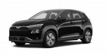 2020 Hyundai Kona Electric Ultimate 4dr SUV (electric DD) Ultra Black