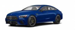 2020 Mercedes AMG GT S 63 4-Door Coupe designo Brilliant Blue Magno