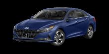 2022 Hyundai Elantra SE Intense Blue