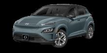 2022 Hyundai Kona EV Cactus Fern with Black Roof