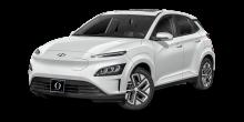 2022 Hyundai Kona EV Lunar White
