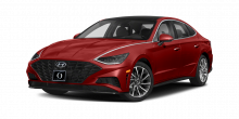 2022 Hyundai Sonata SE Calypso Red