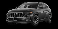 2022 Hyundai Tucson Hybrid Blue Amazon Gray