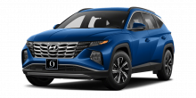 2022 Hyundai Tucson Hybrid Blue Deep Sea