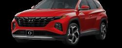 2022 Hyundai Tuscon Limited Calypso Red