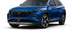 2022 Hyundai Tuscon Limited Intense Blue
