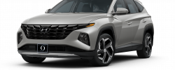 2022 Hyundai Tuscon Limited Shimmering Silver