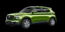 2022 Hyundai Venue SE Green Apple